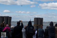 The Space Shuttle Enterprise Arriving In New York City (April 27, 2012) #6