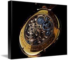 "Stuhrling Original Emperor's Tourbillon watch canvas print in Stretched Canvas configuration. Price starts at $59 (Petite 8"" x 10""). http://www.imagekind.com/Stuhrling-Original-Emperors-Tourbillon-ST_art?IMID=c07d5810-8a6e-483d-bf57-e3c0c60358b5"