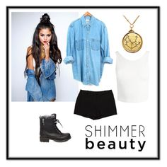 """""""Untitled #87"""" by delilahstutz ❤ liked on Polyvore featuring Sans Souci, L'Agence and Steve Madden"""