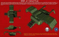 J-1 Jedi shuttle ortho [New] by unusualsuspex on DeviantArt