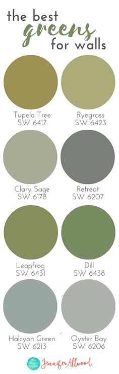 Best Greens For Walls Paint Color Ideas Farmhouse Interior