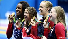 U.S. Olympic Team @TeamUSA  Aug 13 All s for #TeamUSA after 1,000 medals!