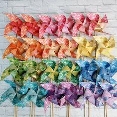 Mermaid pinwheels by Msapple