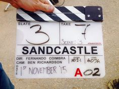 """Day 1"" - Director Fernando Coimbra posts first picture from Sand Castle set, screenwriter Chris Roessner tweets update: production day 1 in the can.  sleep now."""