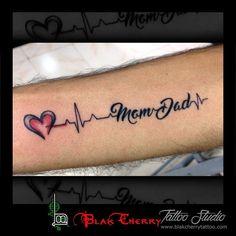 Image result for mom dad tattoos
