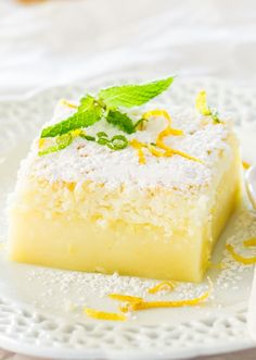 one simple batter that turns into a 3 layer cake. Simply magical. The popular magic cake now in lemon flavor.