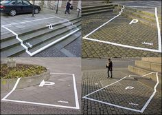 Funny pictures about Jeep parking space ads. Oh, and cool pics about Jeep parking space ads. Also, Jeep parking space ads. Guerrilla Advertising, Print Advertising, Creative Advertising, Marketing And Advertising, Guerilla Marketing Examples, Advertising Campaign, Marketing Ideas, Advertising Ideas, Viral Marketing