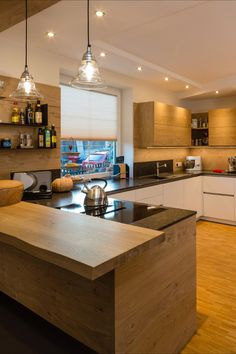 Küchen Design, Interior Design, Open Kitchen, Home Organization, Tiny House, Sweet Home, New Homes, Room, Home Decor