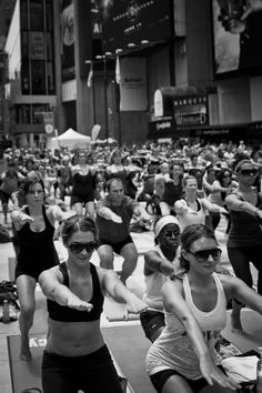 I love the diversity of people!  This IS YOGA!