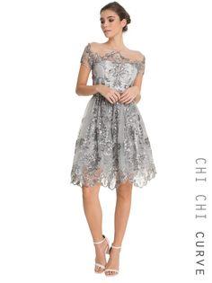 Chi Chi Curve Allanah Dress - chichiclothing.com