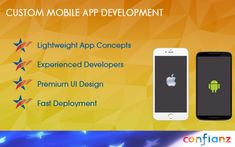 #mobile #mobileapp #mobileappDevelopment Confianz software development company that designs implement and deploy your dream mobile application at minimal cost.Located in Gaston, North Carolina USA