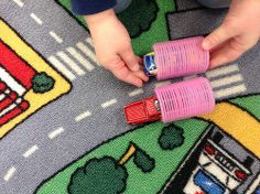 Hair curler tunnels for cars