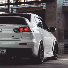 tunedandracecars:Mitsubishi Lancer Evolution X