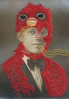 Weird/awesome embroidery art!
