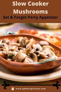 Mushroom Side Dishes, Mushroom Recipes, Vegetable Side Dishes, Vegetable Recipes, Vegan Recipes, Cooking Recipes, Cheap Dinners, Crockpot Dishes, Easy Casserole Recipes