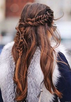 Pinterest: DEBORAHPRAHA ♥ braids hair styles ideas #braids