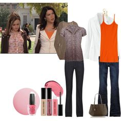 """Gilmore Girls #1"" by janeitenoir on Polyvore"