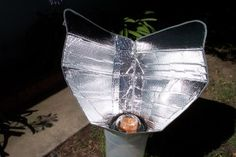 Solar Cooker!  Requires NO tools, just innovation!