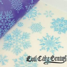 Snowflake Mesh Stencil