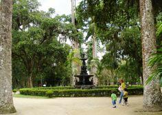 Chafariz Central do Jardim Botânico do Rio de Janeiro, Foto: Ladyce West.