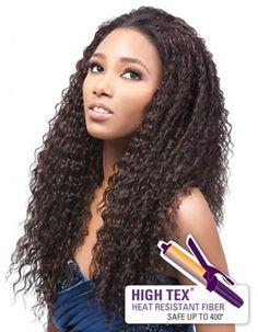 Outre Quick Weave Synthetic Half Wig ZOE
