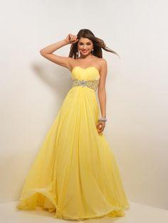 Yellow Formal Dresses!! Prom Dress 2013 e48d6af77745