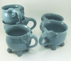 elephant cups by Gary Rith