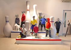 Kidz 4 mannequin collection in the Universal Display London Showroom