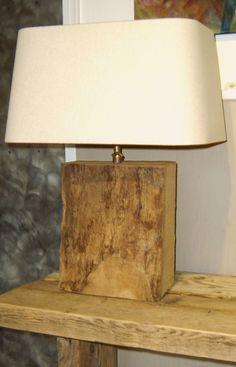 Lampen zoeken and google on pinterest - Houten drie voet lamp ...