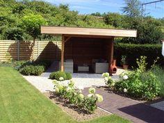 Eiken landelijke bijgebouwen, moderne tuinhuizen, carports - Bijgebouwen De Clercq