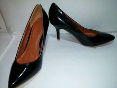 Henry Ferrera NEW YORK Collection BLACK Pumps Heels Shoes, Size. 7 in Clothing, Shoes & Accessories, Women's Shoes, Heels   eBay