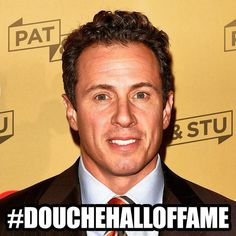 Bestowed onto Chris Cuomo - who couldn't get a story right if he tried ...he's a huge race monger! & #Douchetard
