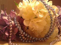 The E World Ornaments: Sfera Floreale Ortensie