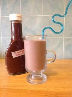 Homemade Hershey's Chocolate Syrup .5C packed cocoa powder 1C water  1.5C sugar 1/8 tsp salt  1/4 tsp vanilla extract   Whisk cocoa powder and water in lg saucepan.  Heat and whisk to dissolve the cocoa. (M-L heat)  Add the sugar and stir/whisk to dissolve.   Bring to a boil for 3 minutes. Be sure to watch this VERY carefully.  Remove from heat; stir in salt and vanilla extract.  Let cool completely and skim off any skin that may have formed.