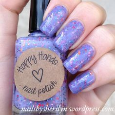 The Worst is Over - Happy Hands Nail Polish.