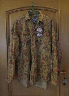 Kup mój przedmiot na #vintedpl http://www.vinted.pl/odziez-meska/koszule/16172194-fantastyczna-wloska-koszula-piekny-wesoly-kwiatowy-wzor-grubsza-oldschool-vintage-pepper