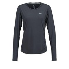 MILER - Funktionsshirt - black/reflective silver by Nike Performance