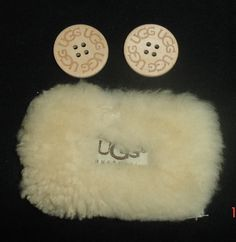 Pair of Authentic #Replacement UGG #Australia Boot #Buttons- Sand Color,  View more on the LINK: 	http://www.zeppy.io/product/gb/3/219569693/