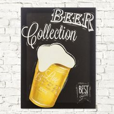 Beer Collection Linen Canvas - Kinebuy
