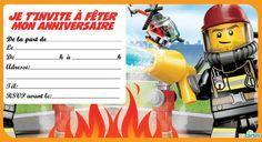 Invitation Anniversaire Lego Gratuite A Personnaliser Et A Imprimer