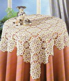 crochet tablecloth pattern