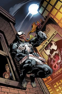 Venomized #2 (2018) Variant Cover by Mark Bagley