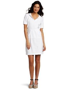 $44.52  Amazon    Mod-O-Doc Women's cotton French Terry Hooded Sport Dress  only 1 Large  4 Med