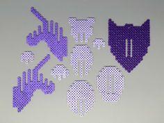 Unicorn Head 3D Perler Bead Puzzle Wall Decor от Pixelixir