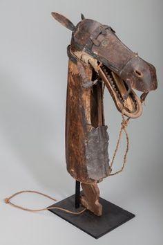 Tribal Art, BOZO, Mali. Horse Head Puppet... (Total: 2 Items)