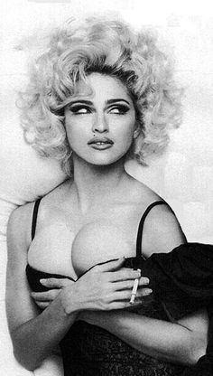 Madonna in the early 90s