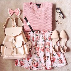 Comfy Outfits for School: Best for Cute and Stylish Look - Wewer Fashion Kawaii Fashion, Cute Fashion, Look Fashion, Teen Fashion, Korean Fashion, Fashion Outfits, Womens Fashion, Fashion Trends, Doll Style