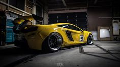 Liberty Walk McLaren 650S in London Auto Show With Multiple Wide Bodies