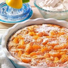 Gyors mandarinos-mogyorós pite