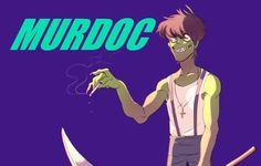 Murdoc Gorillaz, Gorillaz Art, Melancholy, Cool Bands, Feel Good, Lol, Fan Art, Feelings, Memes